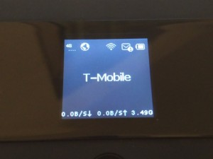 TP Link M7350 4G LTE Hotspot - Verbunden mit dem Provider