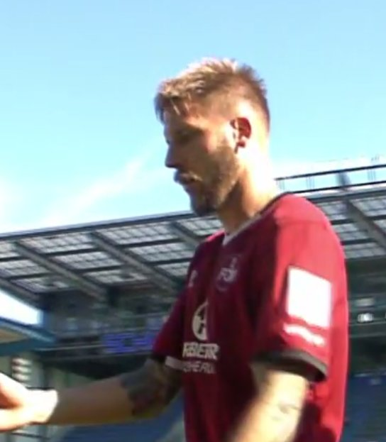 Matchwinner Guido Burgstaller - 2 Tore selber gemacht, aber Elfer verschossen