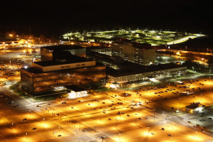 National Security Agency (NSA) Hauptquartier in Fort Meade (Maryland)